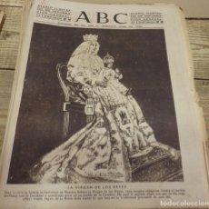 Coleccionismo de Revistas y Periódicos: ABC DE SEVILLA, 15 DE AGOSTO DE 1943, LA VIRGEN DE LOS REYES. Lote 152035034