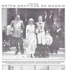 Coleccionismo de Revistas y Periódicos: 1920 HOJA REVISTA MADRID CÍRCULO DE BELLAS ARTES ESCRITOR FEDERICO GARCÍA SANCHIZ. Lote 152183146