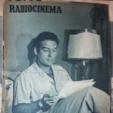 Coleccionismo de Revistas y Periódicos: JORGE MISTRAL REVISTA RADIOCINEMA N. 268, 10 SEPTIEMBRE 1958. Lote 152224406