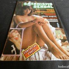 Coleccionismo de Revistas y Periódicos: REVISTA EROTICA RELATOS EROTICOS SATANISMO SEXUAL HIP NUMERO 10, UNA LOCURA. Lote 152275362