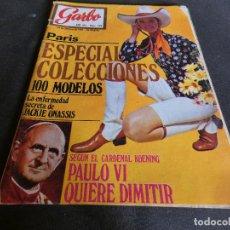Coleccionismo de Revistas y Periódicos: REVISTA GARBO NUM 938 24 FEBRERO 1971 JACKIE ONASSIS. Lote 152288102