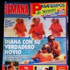 Coleccionismo de Revistas y Periódicos: SEMANA, REVISTA AGOSTO 1997. Lote 152298545
