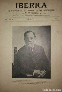 1914 Ibérica. El progreso de las ciencias y sus aplicaciones (de la 1 a la 25)
