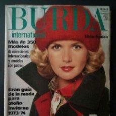 Coleccionismo de Revistas y Periódicos - CTC - AÑO 1973/1974 - BURDA FIGURIN ESPECIAL DE MODA EDICION 41 OTOÑO/INVIERNO 1973/74 - ED ESPAÑOLA - 152372558