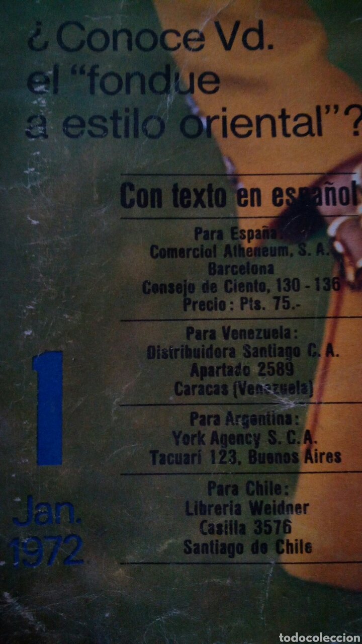 Coleccionismo de Revistas y Periódicos: CTC - AÑO 1972 - BURDA MODEM 1 ENERO 1972 - CON TEXTO EN ESPAÑOL - 75 PATRONES. - Foto 2 - 152374994
