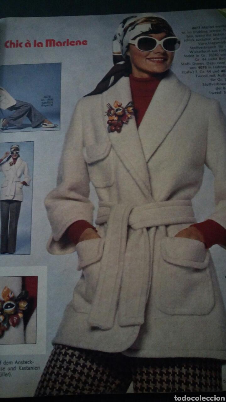 Coleccionismo de Revistas y Periódicos: CTC - AÑO 1972 - BURDA MODEM 1 ENERO 1972 - CON TEXTO EN ESPAÑOL - 75 PATRONES. - Foto 4 - 152374994