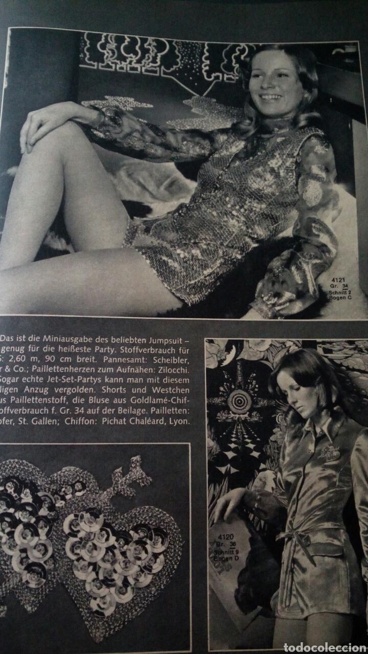 Coleccionismo de Revistas y Periódicos: CTC - AÑO 1972 - BURDA MODEM 1 ENERO 1972 - CON TEXTO EN ESPAÑOL - 75 PATRONES. - Foto 9 - 152374994