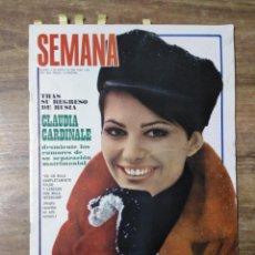 Coleccionismo de Revistas y Periódicos: MFF.- REVISTA SEMANA.- 1524 - 3 MAYO 1969.- SARA MONTIEL DESCUBRE SU INTIMIDAD.- CLAUDIA CARDINALE.-. Lote 152458882