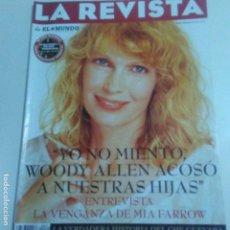 Coleccionismo de Revistas y Periódicos: LA REVISTA DE EL MUNDO 23-2-1997 MIA FARROW CONTRA WOODY ALLEN. CHE GUEVARA. VER FOTOS. Lote 152499074