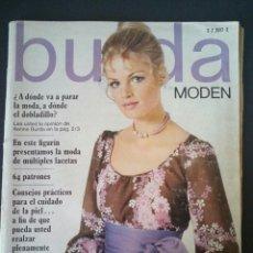 Coleccionismo de Revistas y Periódicos - CTC - AÑO 1970 - BURDA MODEM 6 JUNIO 1970 -CON TEXTO EN ESPAÑOL - 64 PATRONES. - 152554542
