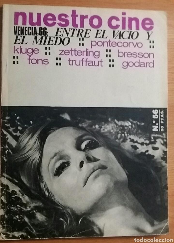 REVISTA NUESTRO CINE. VENECIA. 66: ENTRE EL VACÍO Y EL MIEDO. VVAA Nº 56. (Coleccionismo - Revistas y Periódicos Modernos (a partir de 1.940) - Otros)