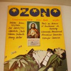 Coleccionismo de Revistas y Periódicos: OZONO REVISTA DE MÚSICA Y OTRAS MUCHAS COSAS. Nº 11 JULIO AGOSTO 1976 (EN MUY BUEN ESTADO) 100 PÁG.. Lote 152577026