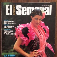 Coleccionismo de Revistas y Periódicos: REVISTA SUPLEMENTO SEMANAL. MAYO 1994. LA FERIA DE JEREZ.. Lote 152585686