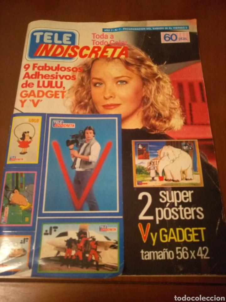 REVISTA TELE INDISCRETA N'7 SERE V (COMPLETA) (Coleccionismo - Revistas y Periódicos Modernos (a partir de 1.940) - Otros)