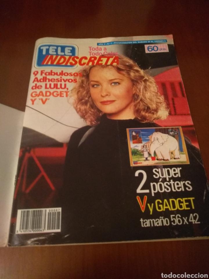 Coleccionismo de Revistas y Periódicos: Revista Tele Indiscreta n'7 sere V (completa) - Foto 2 - 181451481