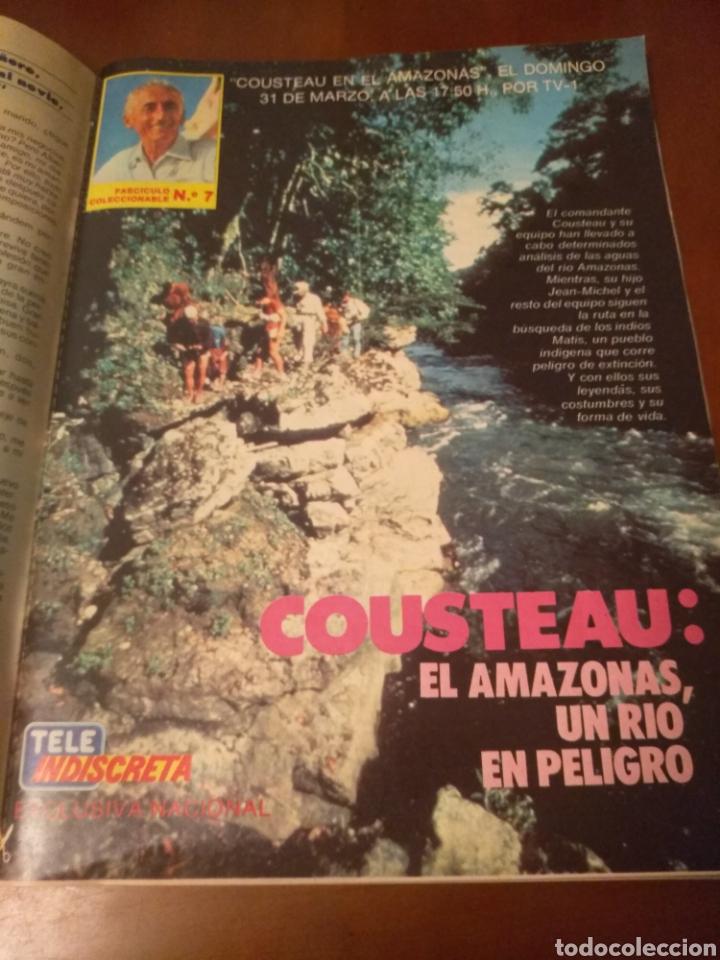 Coleccionismo de Revistas y Periódicos: Revista Tele Indiscreta n'7 sere V (completa) - Foto 6 - 181451481
