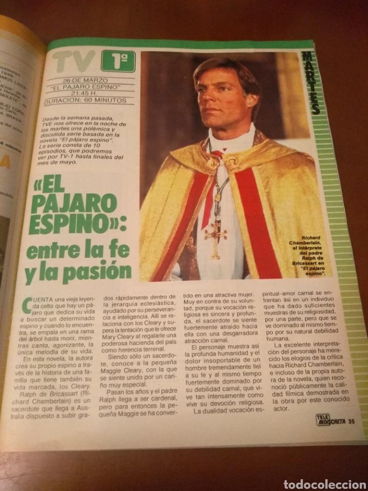 Coleccionismo de Revistas y Periódicos: Revista Tele Indiscreta n'7 sere V (completa) - Foto 8 - 181451481