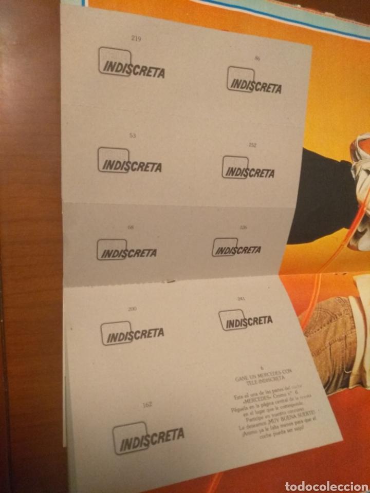 Coleccionismo de Revistas y Periódicos: Revista Tele Indiscreta n'7 sere V (completa) - Foto 12 - 181451481