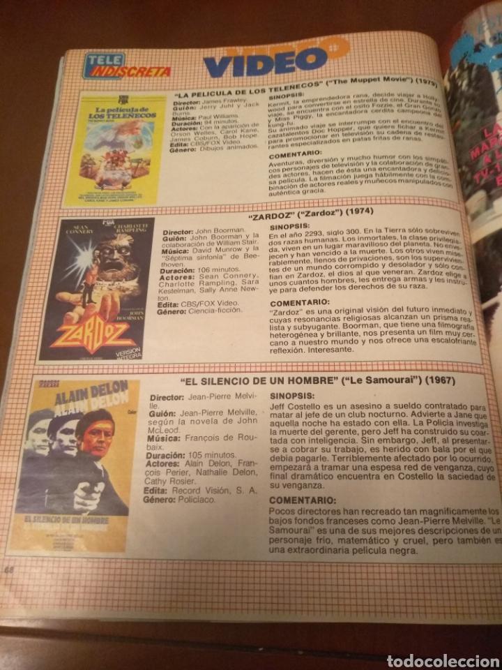Coleccionismo de Revistas y Periódicos: Revista Tele Indiscreta n'7 sere V (completa) - Foto 16 - 181451481