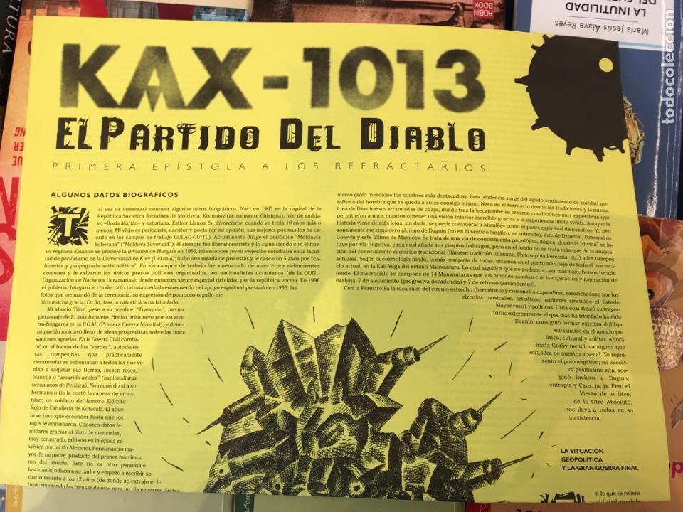 KAX-1013 + LOS BORBONES EN PELOTA. QUICO RIVAS, CARLOS GARCÍA ALIX, ARTURO MARIÁN LLANOS (Coleccionismo - Revistas y Periódicos Modernos (a partir de 1.940) - Otros)