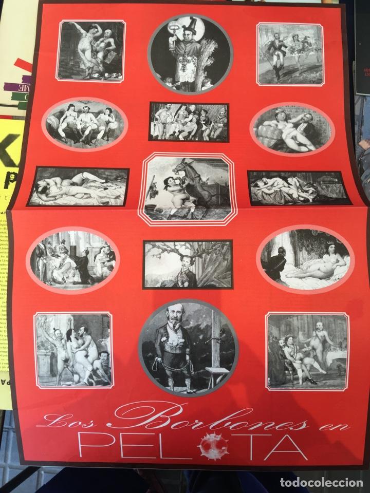 Coleccionismo de Revistas y Periódicos: Kax-1013 + Los borbones en pelota. Quico Rivas, Carlos García Alix, Arturo Marián Llanos - Foto 2 - 152616156