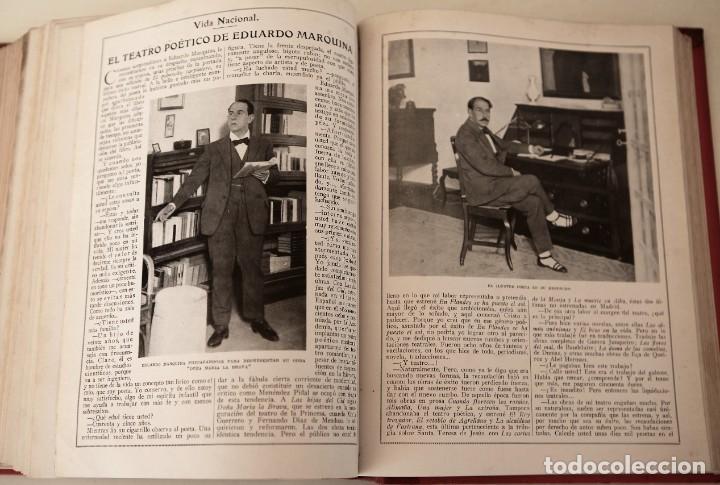 Coleccionismo de Revistas y Periódicos: Blanco y Negro Revista Ilustrada, 2 volúmenes, año 1924 completo - Foto 4 - 152632226
