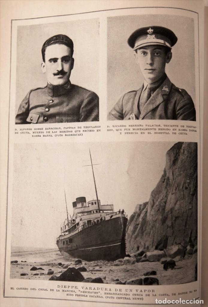 Coleccionismo de Revistas y Periódicos: Blanco y Negro Revista Ilustrada, 2 volúmenes, año 1924 completo - Foto 5 - 152632226