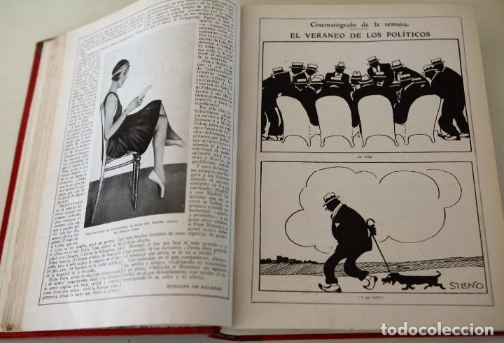 Coleccionismo de Revistas y Periódicos: Blanco y Negro Revista Ilustrada, 2 volúmenes, año 1924 completo - Foto 9 - 152632226