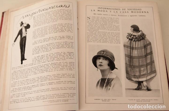 Coleccionismo de Revistas y Periódicos: Blanco y Negro Revista Ilustrada, 2 volúmenes, año 1924 completo - Foto 10 - 152632226