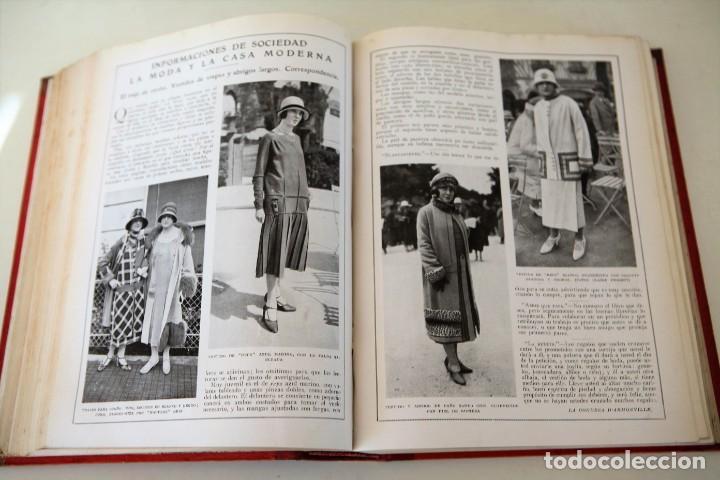 Coleccionismo de Revistas y Periódicos: Blanco y Negro Revista Ilustrada, 2 volúmenes, año 1924 completo - Foto 12 - 152632226