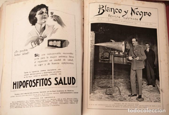 Coleccionismo de Revistas y Periódicos: Blanco y Negro Revista Ilustrada, 2 volúmenes, año 1924 completo - Foto 16 - 152632226