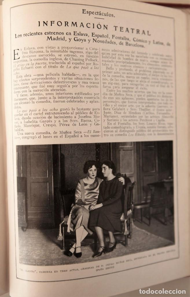 Coleccionismo de Revistas y Periódicos: Blanco y Negro Revista Ilustrada, 2 volúmenes, año 1924 completo - Foto 18 - 152632226
