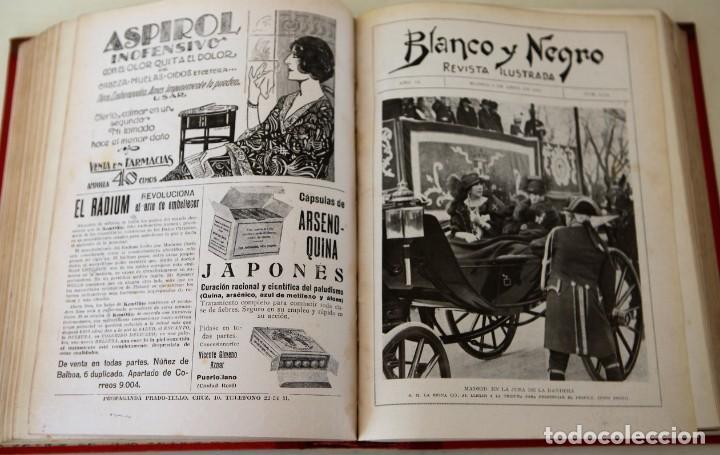 Coleccionismo de Revistas y Periódicos: Blanco y Negro Revista Ilustrada, 2 volúmenes, año 1924 completo - Foto 26 - 152632226