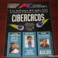 Coleccionismo de Revistas y Periódicos: REVISTA ACTUALIDAD ECONOMICA -1996 Nº 1962 - CIBERCACOS. Lote 152664442
