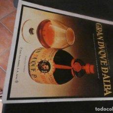 Coleccionismo de Revistas y Periódicos: VINTAGE 1974 SPANISH CLIPPING RECORTE SEMANA 1784 BRANDY GRAN DUQUE DE ALBA AD ANUNCIO. Lote 152733218