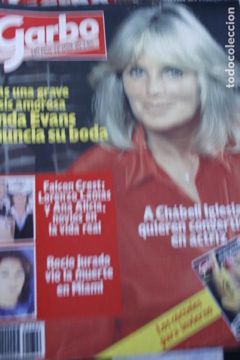 LINDA EVANS ROCIO JURADO PALOMA SAN BASILIO LOLA FLORES SARA MONTIEL ROCIO DURCAL MIGUEL BOSE 1986 (Coleccionismo - Revistas y Periódicos Modernos (a partir de 1.940) - Otros)
