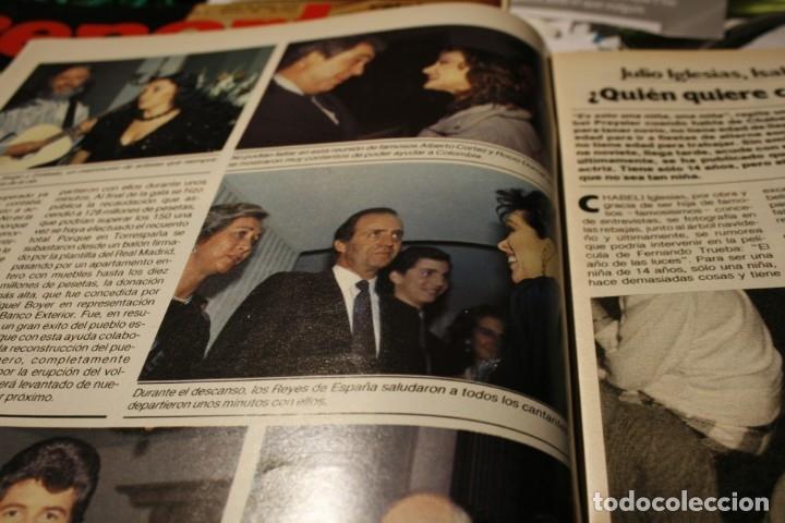 Coleccionismo de Revistas y Periódicos: LINDA EVANS ROCIO JURADO PALOMA SAN BASILIO LOLA FLORES SARA MONTIEL ROCIO DURCAL MIGUEL BOSE 1986 - Foto 2 - 152805614