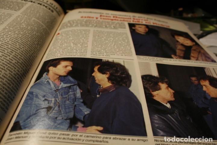 Coleccionismo de Revistas y Periódicos: LINDA EVANS ROCIO JURADO PALOMA SAN BASILIO LOLA FLORES SARA MONTIEL ROCIO DURCAL MIGUEL BOSE 1986 - Foto 3 - 152805614