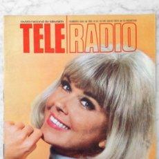 Coleccionismo de Revistas y Periódicos: TELE-RADIO - 1970 - EL SHOW DE DORIS DAY, TINA SAINZ, LOLA HERRERA, BARRIO SESAMO, JESUS ARTEAGA. Lote 43947787