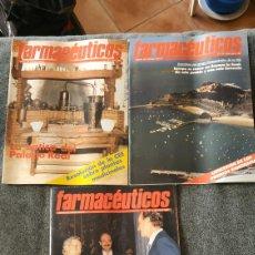 Coleccionismo de Revistas y Periódicos: LOTE 3 REVISTAS FARMACEUTICOS.. Lote 152896437