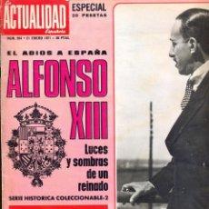 Coleccionismo de Revistas y Periódicos: LA ACTUALIDAD ESPAÑOLA. 21/01/1971. Nº 994. POPULARES FÉLIX RODRÍGUEZ DE LA FUENTE.. Lote 152953498