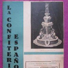 Coleccionismo de Revistas y Periódicos: LOTE 3 REVISTAS LA CONFITERIA ESPAÑOLA, 1935, COCINA MARZO, ABRIL Y MAYO,. Lote 153090002