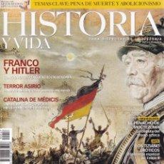 Coleccionismo de Revistas y Periódicos: HISTORIA Y VIDA - Nº 447 / AÑO XXXVII. Lote 153097106