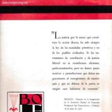 Coleccionismo de Revistas y Periódicos: BOLETIN DE INFORMACION DE F.E.T. Y DE LAS J.O.N.S - Nº 27 / 1962. Lote 153098586