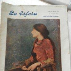 Coleccionismo de Revistas y Periódicos: LA ESFERA REVISTA Nº 237 JULIO 1918. ILUSTRACIÓN MUNDIAL.. Lote 153132022