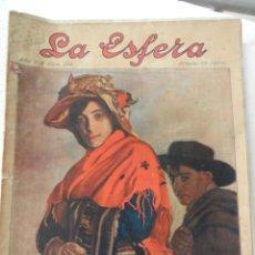 Coleccionismo de Revistas y Periódicos: LA ESFERA REVISTA Nº 228 AÑO 1918.. Lote 153132302