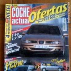 Coleccionismo de Revistas y Periódicos: REVISTA COCHE ACTUAL N,581 DE 1999. Lote 153159414