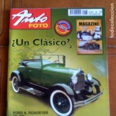 Coleccionismo de Revistas y Periódicos: REVISTA AUTO FOTO N,154 DEL AÑO 2009. Lote 153160054