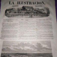 Coleccionismo de Revistas y Periódicos: 1854 LA ILUSTRACION PERIODICO UNIVERSAL MALTA GUERRA DE ORIENTE CONDE RODIGER EJERCITO POLONIA. Lote 153231738