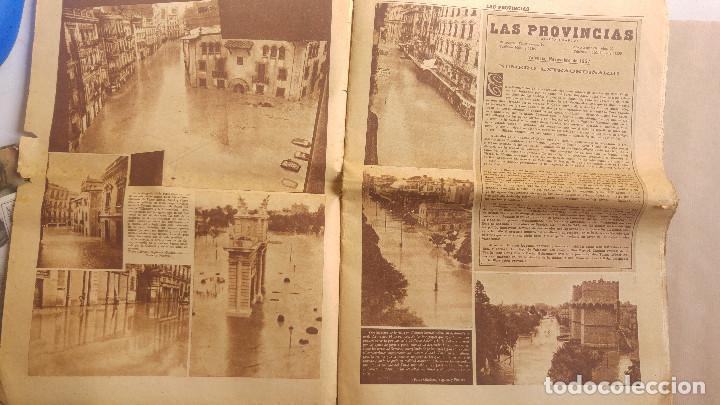 Coleccionismo de Revistas y Periódicos: LAS PROVINCIAS - Número 14 de octubre de 1957 , riada de Valencia. MUCHAS FOTOGRAFIAS - Foto 2 - 153237806